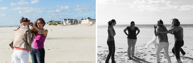 Séance photos d'un EVJF à la mer - Berk-sur-mer my endless love photographe mariage alsace