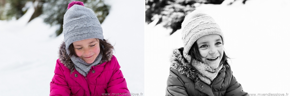 Photographe portrait enfant neige haguenau my endless love photographie reichhart