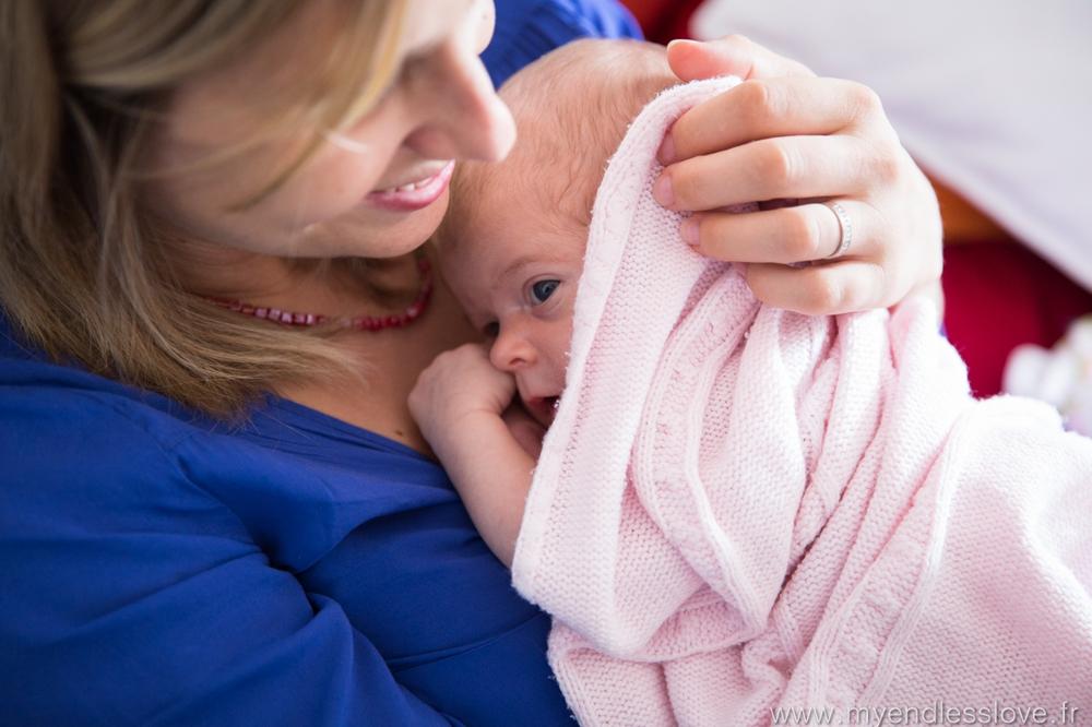 séance photo bébé à la maison bas rhin