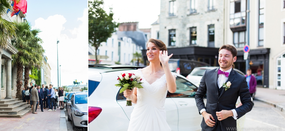 photos mairie cherbourg mariage