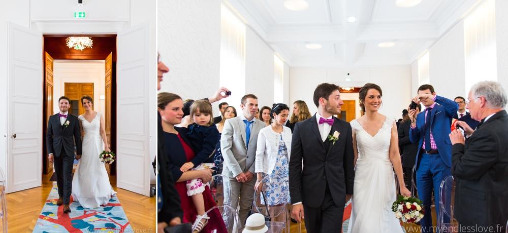 photographe alsace entrée des mariés
